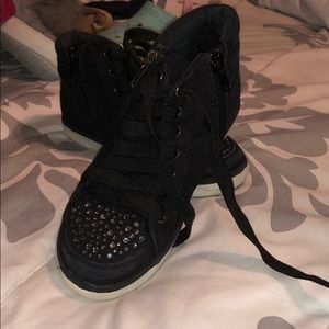 Gently used Justice Sneakers